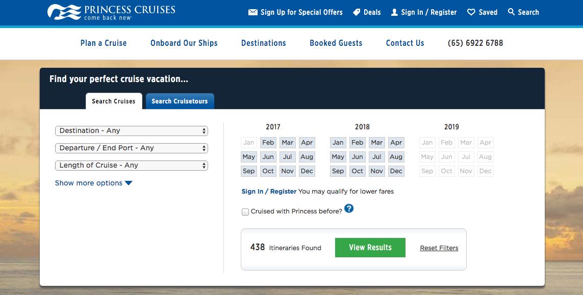 princess-cruises-online-booking