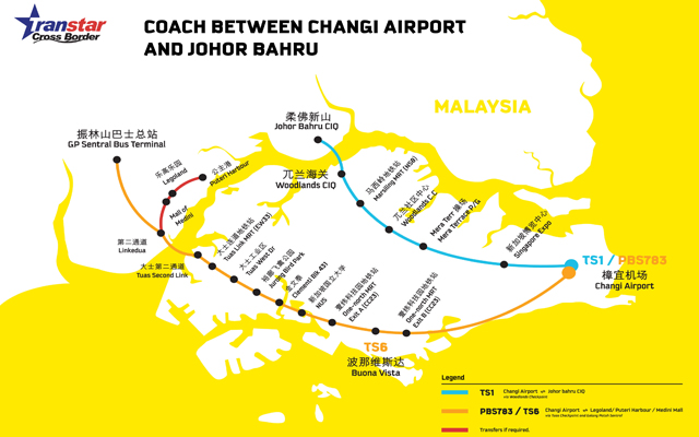 Scoot offers free bus transfers between Johor Bahru and ...